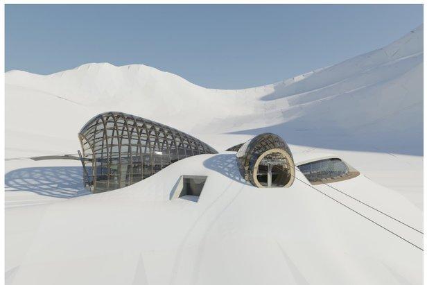 DAV kritisiert Pläne zu riesigem Gletscherskigebiet in Tirol- ©Baumschlager Hutter Partners