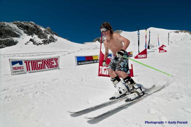 Ski d'été en FranceAndy Parant