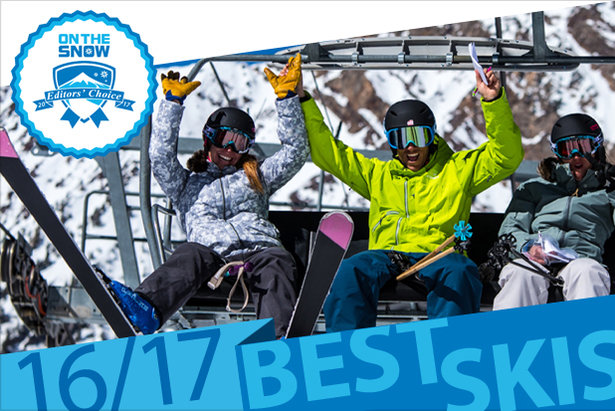 The Best 2016/2017 Skis: OnTheSnow Editors' Choice Winners  ©Liam Doran