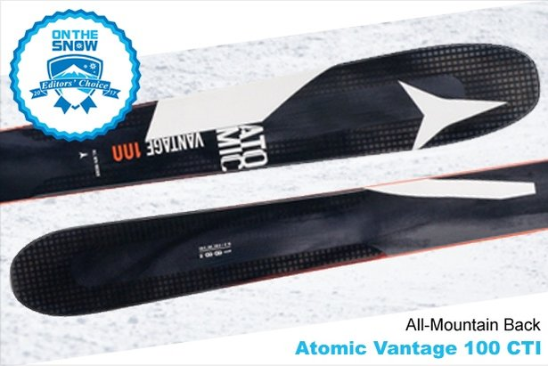 Atomic Vantage 100 CTi: 16/17 Editors' Choice Men's All-Mountain Back Ski - ©Atomic