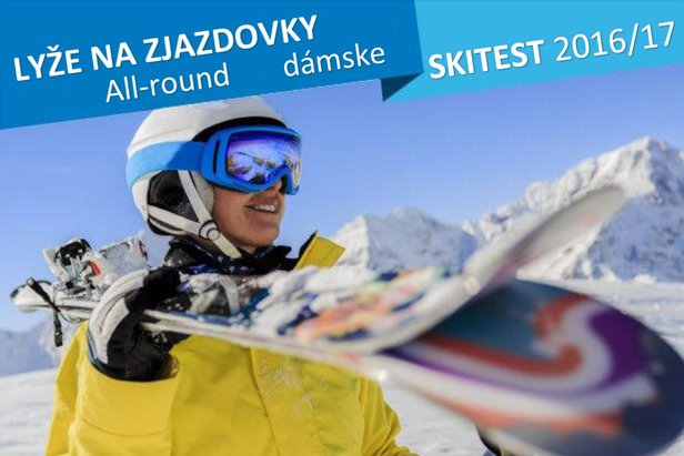 Skitest 2016/17: Allround lyže na zjazdovky - dámske