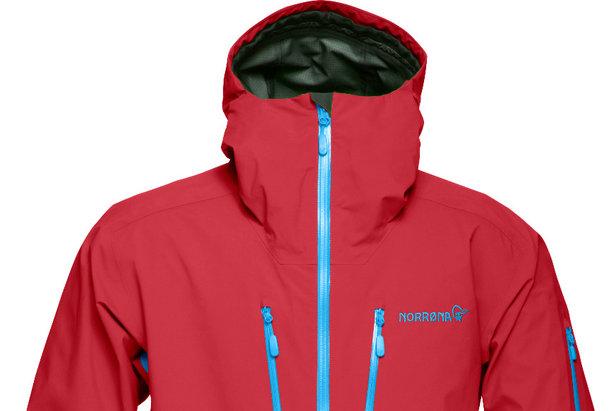 Veste Norrøna Lofoten Gore-Tex Pro Jacket (Modèle Homme Jester Red)