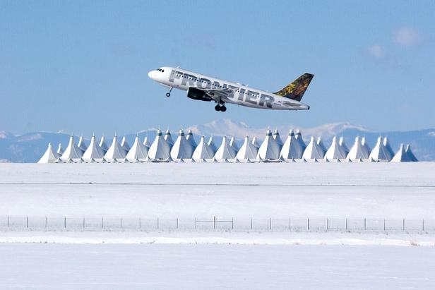 Denver International Airport – porten til skikjøring i Colorado