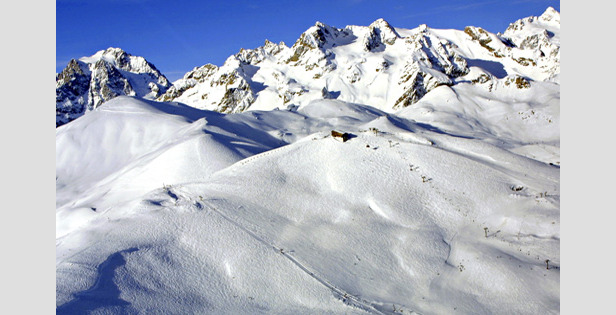 Deep Snow Base At High French Resorts While Lower Centres Close