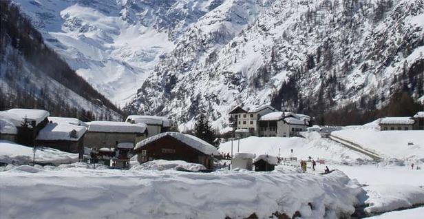 Maltempo e neve sulle Alpi