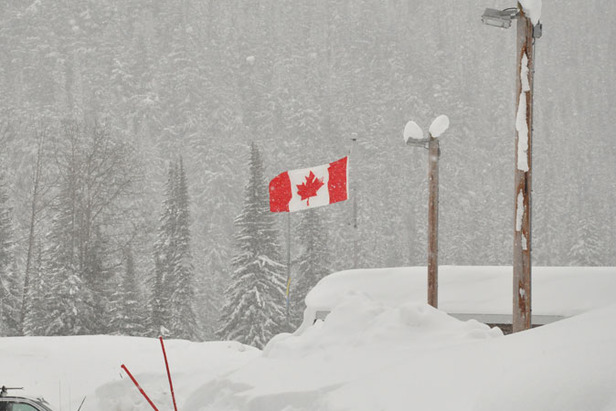 New Snow For North America