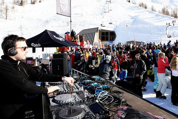 Grosse ambiance et bonne musique à l'heure de l'après ski