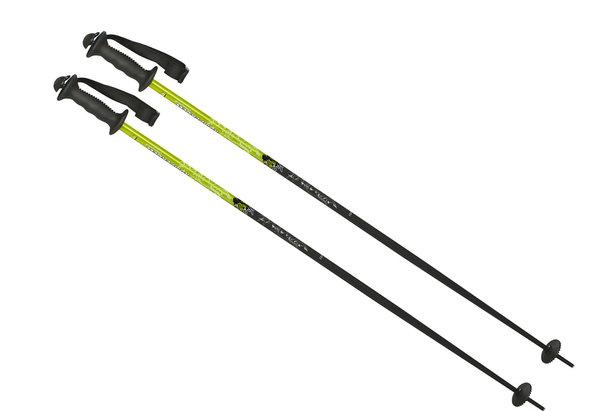 Bâton de ski gourde