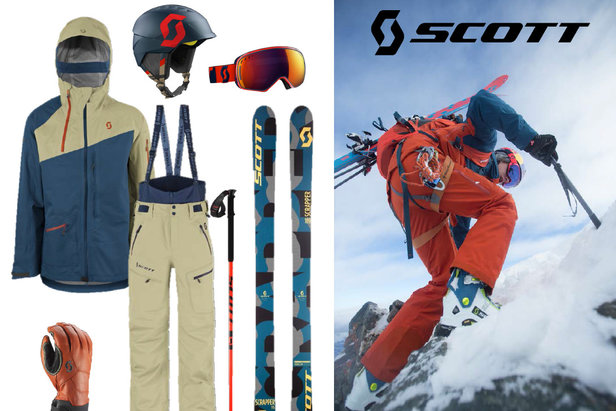 Collection Scott Freeride Homme (hiver 2016/2017)