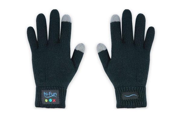 Les gants Bluetooth Hi-Fun pour téléphoner sur les pistes