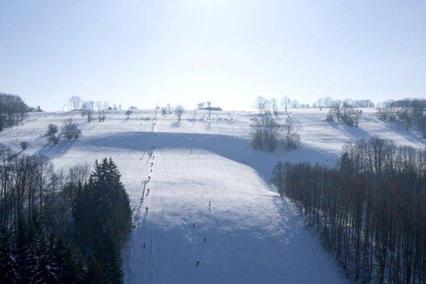Der Skihang des Bläsibergs  - © Bläsiberg Skilifte Wiesensteig