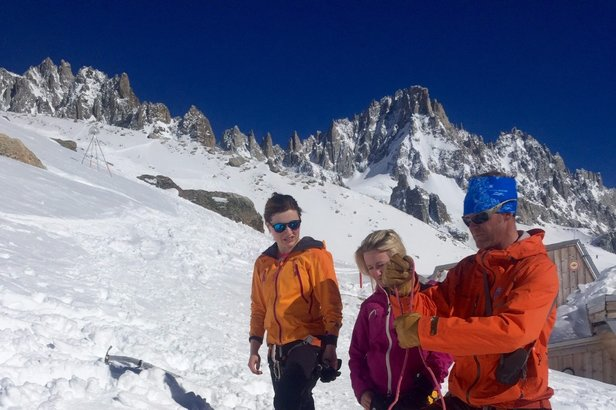 Dag 1: Chamonix til Argentier-hytta- ©Maren Myre Baksaas