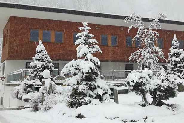Schneebericht: Früher Wintereinbruch und starke Schneefälle- ©Facebook Hintertuxer Gletscher