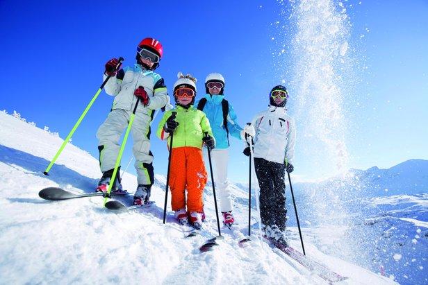 Jak nauczyć dziecko jazdy na nartach?- ©Kinderhotels Europa