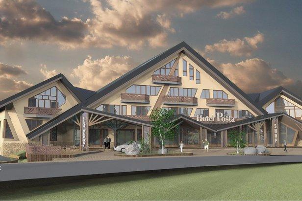 V Jasnej pribudne počas tejto zimy nový 4-hviezdičkový Ski-in Ski-out hotel ©TMR, a.s.