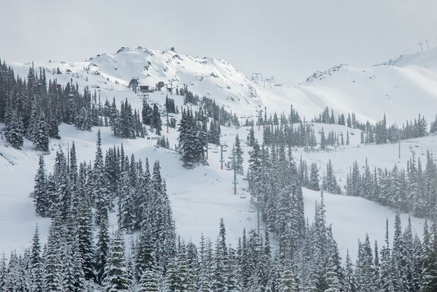Whistler Blackcomb almost there for 16/17!