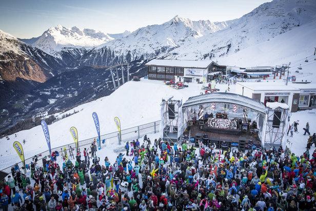 Electric Mountain Festival in Sölden