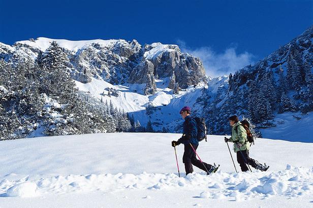 Traumhafte Winterwanderwege: Liechtensteins weisse Bergwelt bezaubert