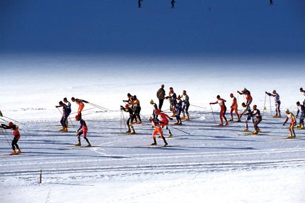 Volkslanglauf in den Sextner Dolomiten