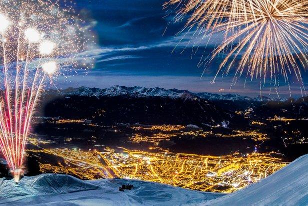 Silvester-Feierlichkeiten in Innsbruck