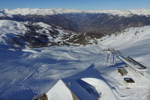 Neige de culture, signalétique, remontées mécaniques, pistes... le domaine skiable de Risoul fait l'objet de nombreux investissement de la part de Labellemontagne