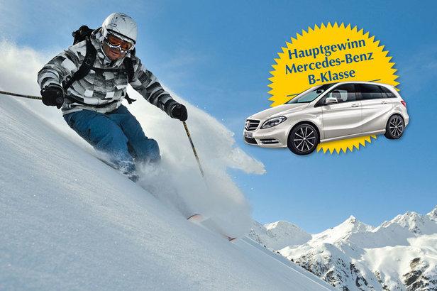 Top Gewinne bei der Ski Challenge in Serfaus-Fiss-Ladis
