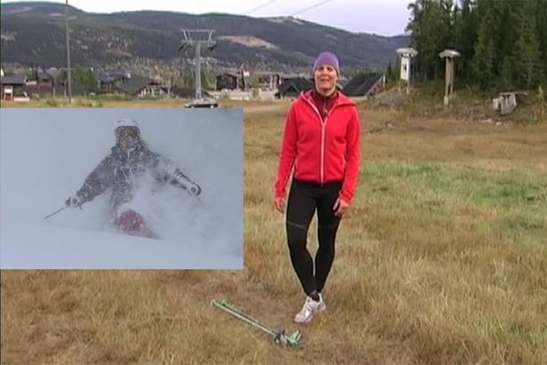 Treningstips for ski med frikjører Janette Hargin