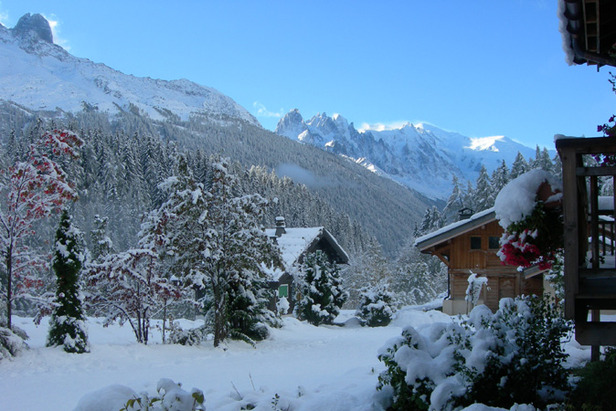 Early Snow In Chamonix