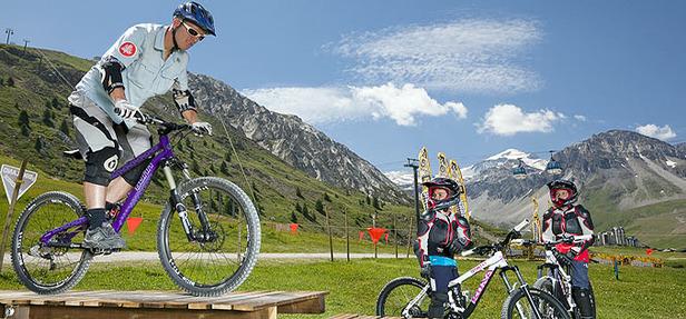 Bike Park Tignes (photo Tignes Développement / MG)