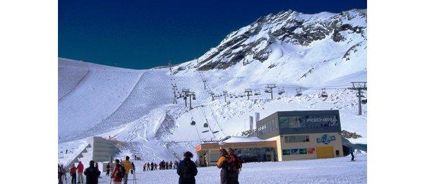 Esquiar en primavera: Sölden