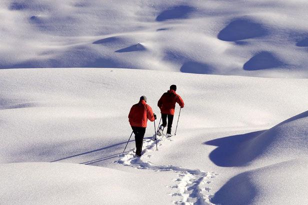 Schneeschuhtour ab der Alpenstadt Chur