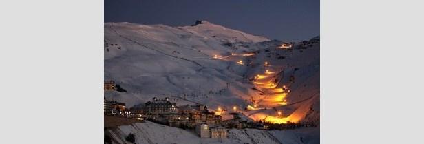 Sierra Nevada Esquí Nocturno
