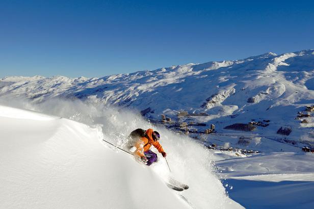 Les Menuires: Ein atemberaubendes und einzigartiges Skigebiet