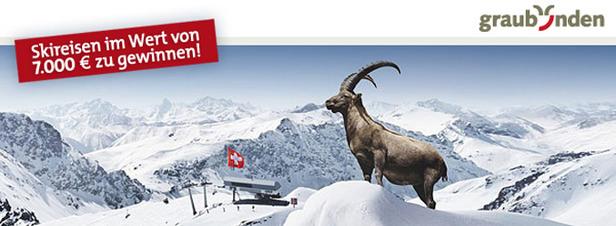 Skireisen nach Graubünden zu gewinnen