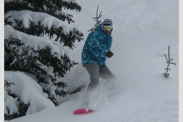 Copper Snowboard