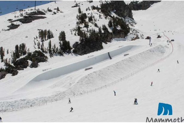 New Spring Pipe Opens At Mammoth