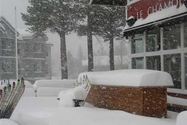 Another 15cm of Fresh Snow on Squaw Valley USA