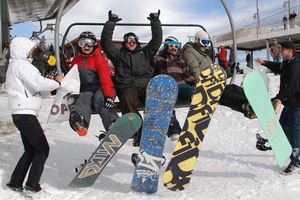 Mammoth Opens 10 Days Early