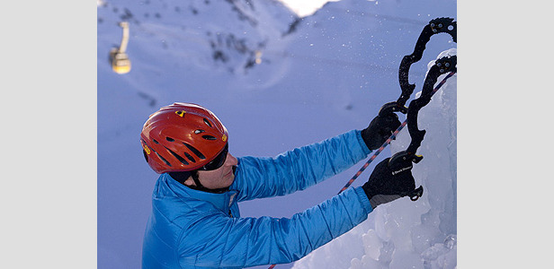 Pontresina - Iceclimbing