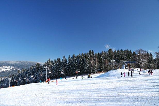 22.2.2019: Kde v Čechách se lyžuje a kolik je sněhu ©Skiareál Aldrov Vítkovice v Krkonoších | facebook