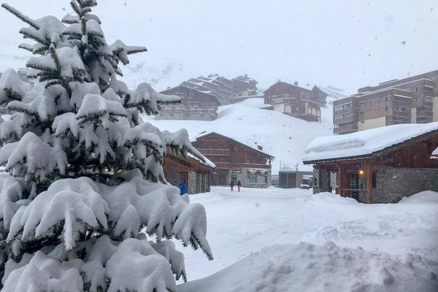 Eight of the best resorts for skiing in April- ©Val Thorens/Facebook