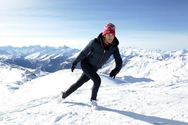 Vidéo : 10 minutes, 6 exercices pour se préparer physiquement au ski- ©Hervé Hamon