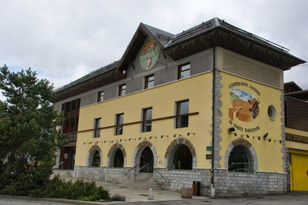 La Coopérative laitière de Haute Tarentaise s'agrandit et ouvrira une nouvelle boutique ainsi qu'un espace muséographique qui ouvrira à la fin du mois de mars.