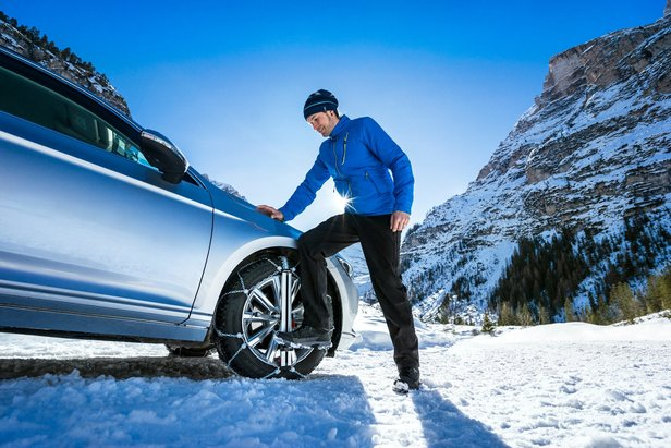 Le catene da neve facili da montare di König