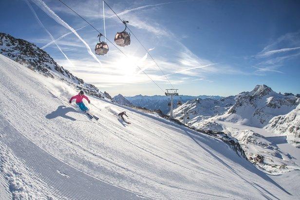 Na Mölltali sa lyžuje už od utorka 8.10.2019! ©TMR, a.s.