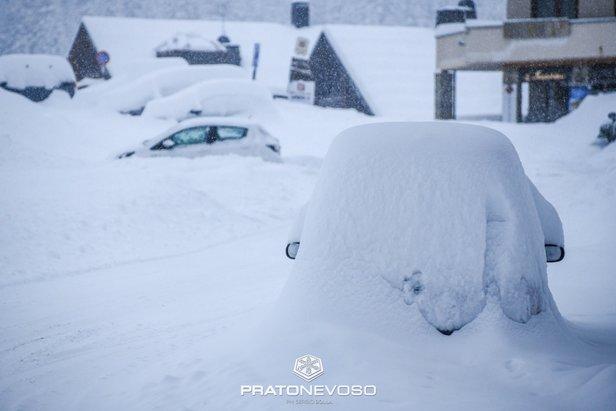 La neve è arrivata anche al Nord! ©Prato Nevoso Ski Facebook