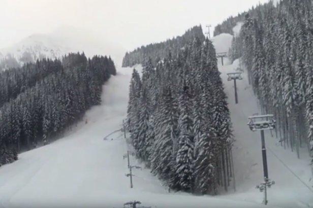 VIDEO: Preventívny odstrel lavíny v Spálenom žľabe- ©Youtube | Pavol Hrubjak