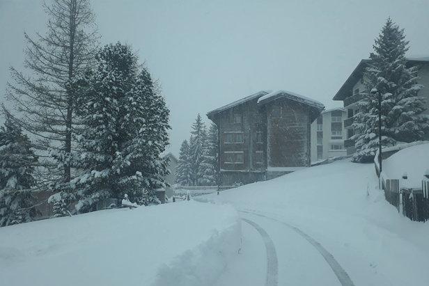 Nevica anche oltre confine: i bollettini neve di Francia, Austria e SvizzeraSaas-Fee Facebook