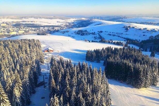 15.2.2019: Kde v Čechách se lyžuje a kolik je sněhu ©Skiareál Klínovec | facebook