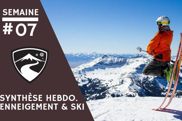 Synthèse enneigement & conditions de ski - Semaine 07Ara Lleida